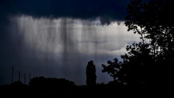 Sok eső jöhet a Dunántúlra a hét közepéig