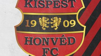 A Budapest Honvéd is lecseréli a címerét