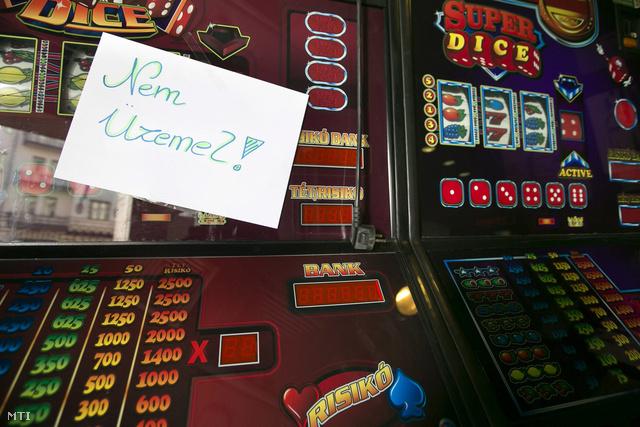 Hatályos a játéktermeket a nyerőgépek üzemeltetését és az e-kaszinókat betiltó szabályozás
