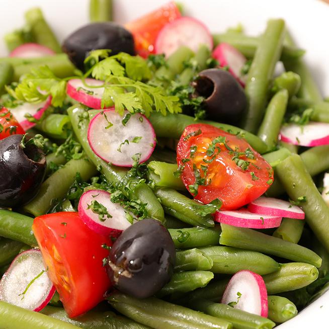 Egészséges, zamatos zöldbabsaláta 15 perc alatt: jól behűtve lesz igazán finom