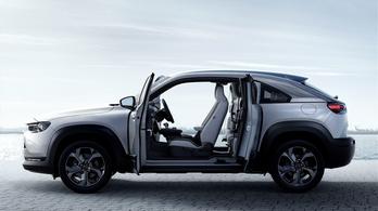 Bemutatták a Mazda MX-30 hibrid változatát
