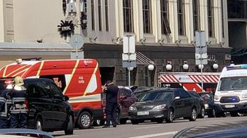Egy férfi robbanószerrel fenyegetőzött egy kijevi bankban, őrizetbe vették