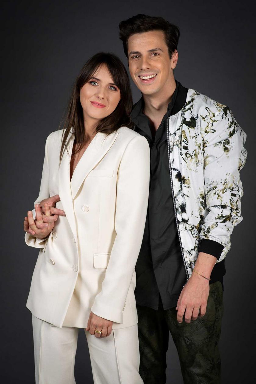 Eke Angéla és párja, Budavári Balázs először szerepelnek együtt tévéműsorban.