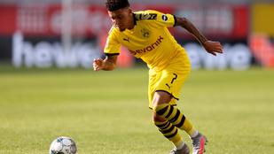 Ultimátumot adott a Dortmund Sancho leigazolására