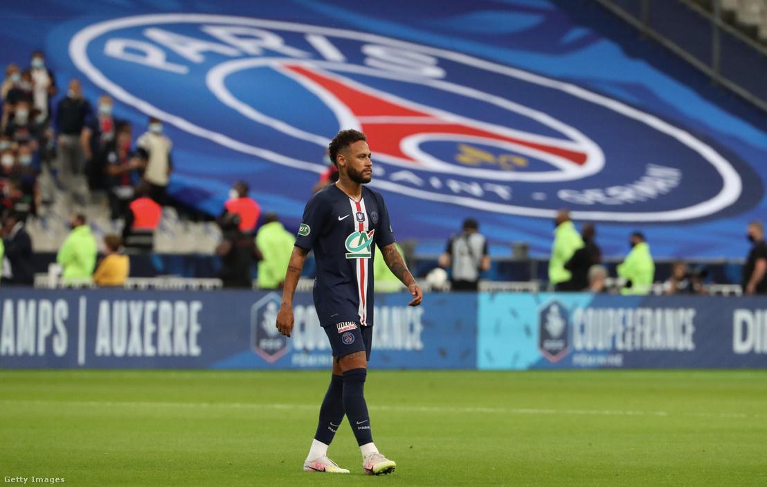 Neymar, a Paris Saint-Germain játékosa