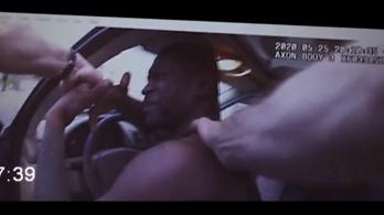 Kiszivárogtak a teljes felvételek George Floyd halállal végződő igazoltatásáról