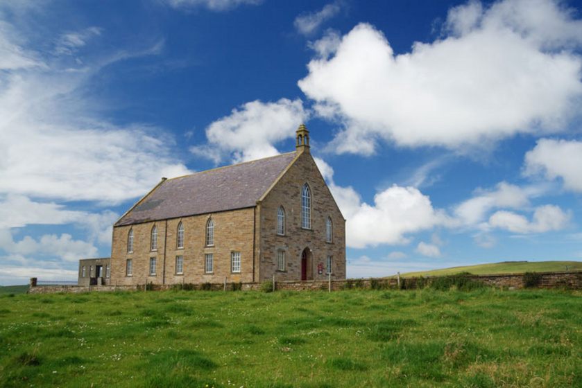 Presbiteriánus templom Orkney-ben
