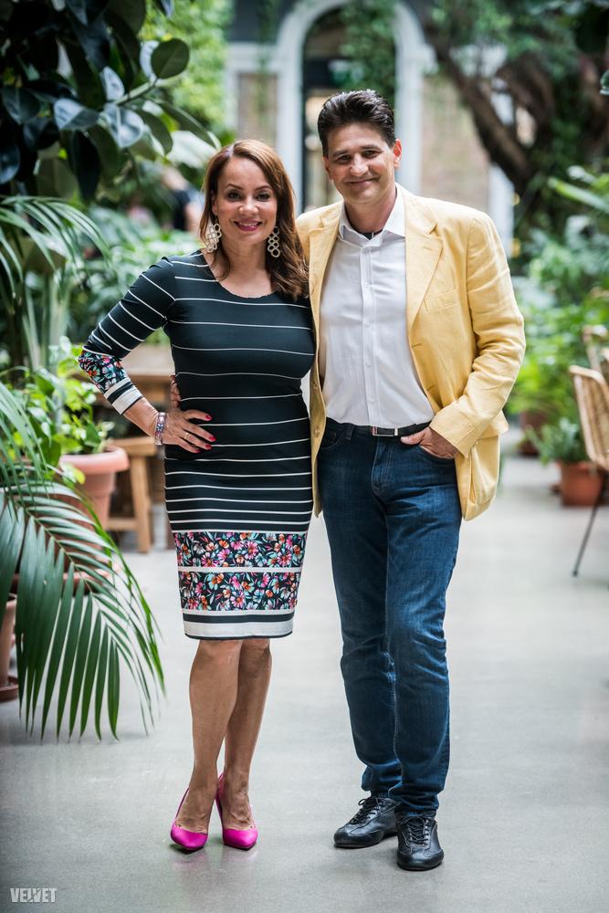 Csisztu Zsuzsa és Ketskés Norbert komoly felkészüléssel vágtak neki a versenynek, a műsorvezető férje ugyanis korábban nem volt járatos a konyhában.