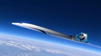 Szuperszonikus luxusrepülőt mutatott be a Virgin Galactic