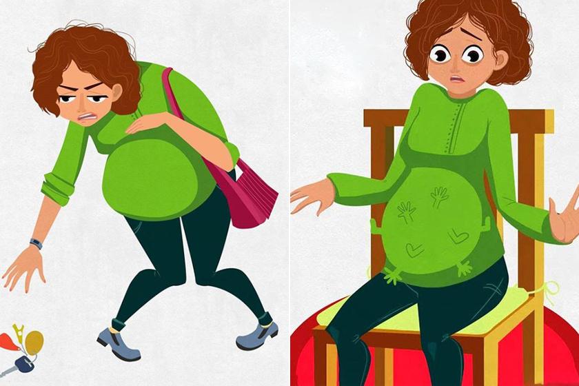 8 dolog, amit csak a terhes nők értenek: ilyen a 9 hónap valójában