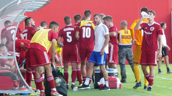 Fals lehetett a pozitív teszt, nincs koronavírusos a Kisvárda focistái között