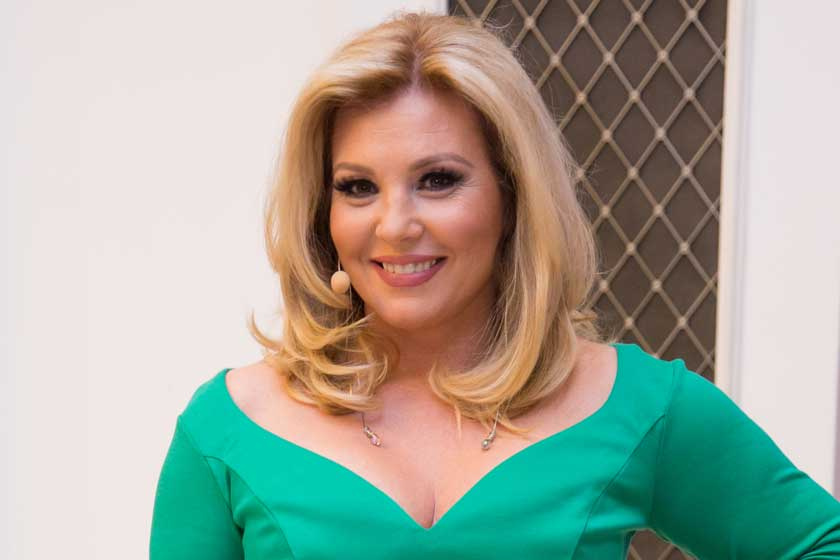 Liptai Claudia zöld ruhája telitalálat - Megmutatta, milyen karcsú lett a dereka