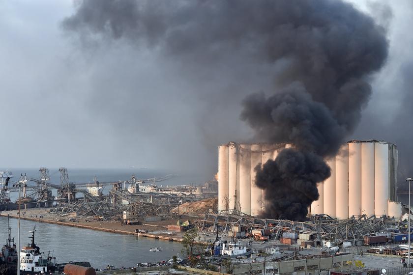 Egy magyar férfi a teraszáról nézte végig a bejrúti robbanást - Részletesen beszélt róla