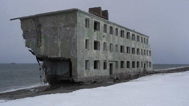 Kirovszkij, az elhagyott szovjet halásztelepülés