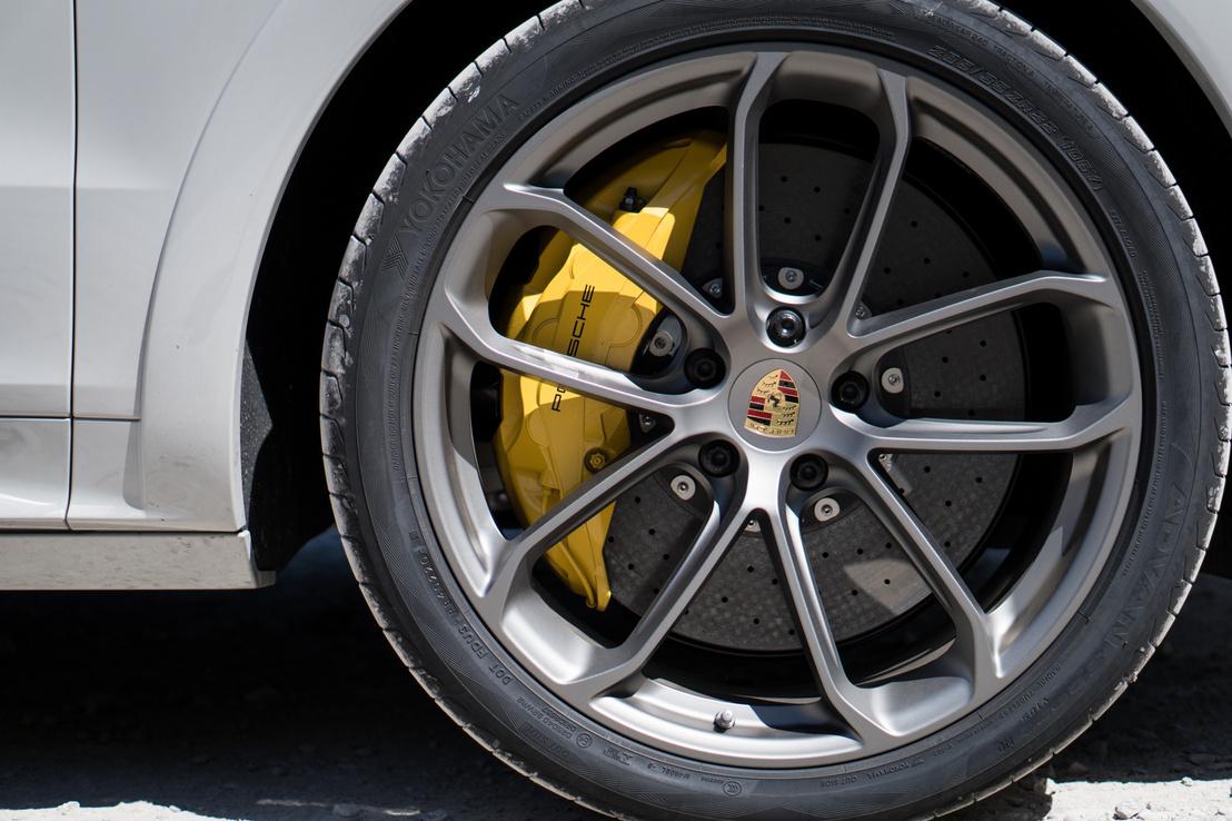 A 21 colos RS Spyder kerekek már extra - igen, az ott kerámia féktárcsa