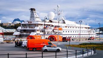Koronavírus: vesztegzár alá helyeztek egy turistahajót Norvégiában