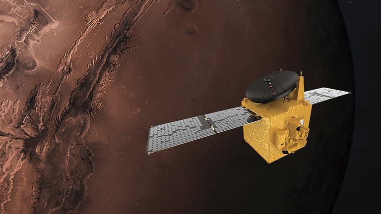 Felpörög a marsi élet utáni hajsza