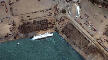 A bejrúti robbanás után elsüllyedt az Orient Queen tengerjáró