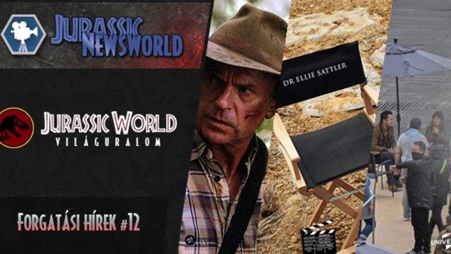 Jurassic World: Dominion - Forgatási hírek #12