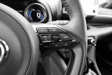 Radaros tempomat is van, ami már állóra fékezi az autót, majd kis noszogatásra vissza is gyorsítja