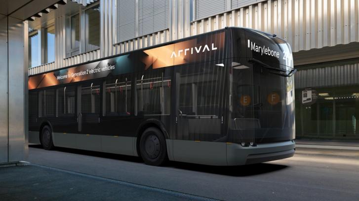 Arrival újonnan bejelentett járványbiztos busza