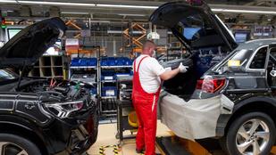 A júniusi ipari termelés is jóval elmaradt a tavalyitól