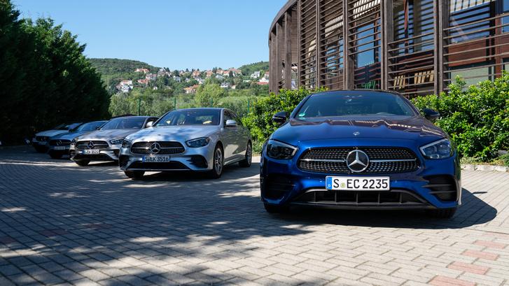1946 óta 14 millió E osztályt adott el a Mercedes, ez a legsikeresebb modelljük