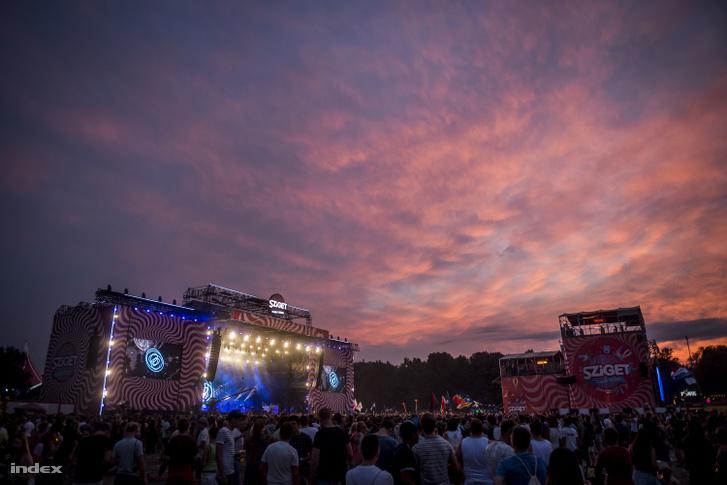 A Sziget Fesztivál 2016-ban