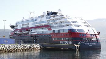 Újabb fertőzötteket diagnosztizáltak a Roald Amundsen norvég turistahajón