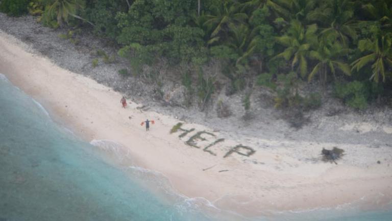 S.O.S., egy lakatlan szigeten ragadtam