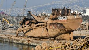 Kihallgattak egy orosz férfit a bejrúti robbanással kapcsolatban