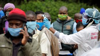 Már több mint egymillió azonosított koronavírus-fertőzött van Afrikában