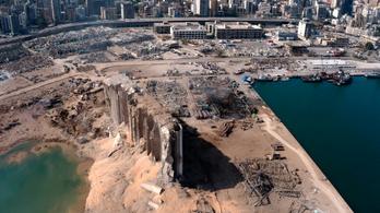Tizenhat embert vettek őrizetbe a bejrúti robbantás miatt