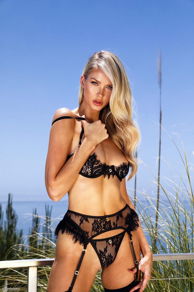 Ő itt Erin Michelle amerikai modell, ugyanabból a sorozatból
