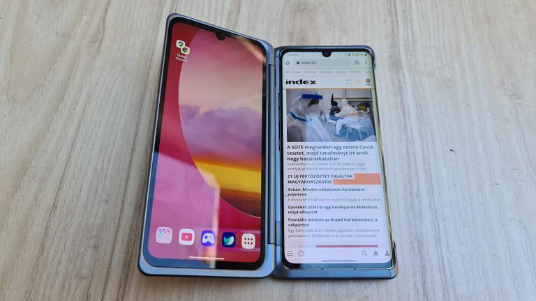 Az LG új telefonjában a tok a legizgalmasabb dolog