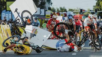 Felébresztették a kómából a Lengyel körversenyen bukó Jakobsent