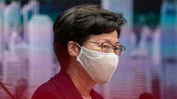 Az USA szankciókkal bünteti Hongkong vezetőjét
