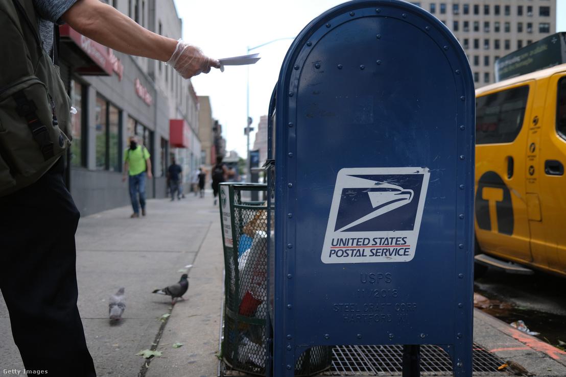 Postaláda New Yorkban