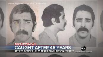 46 év rejtőzködés után fogott el az FBI egy szökevényt