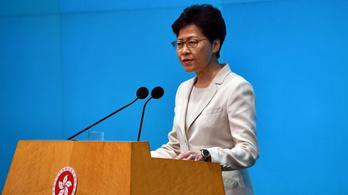 Hongkong felháborodott az amerikai szankciók miatt