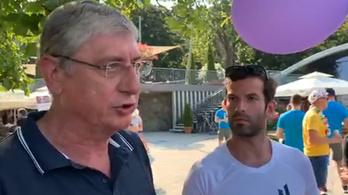 A Balatonon találkozott Fekete-Győr és Gyurcsány a gödi konfliktus miatt