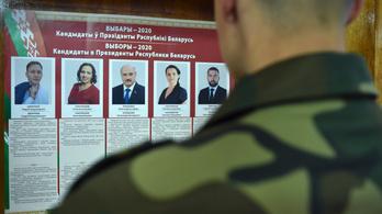 Az ellenzék több tagját őrizetbe vették a fehérorosz választások alatt