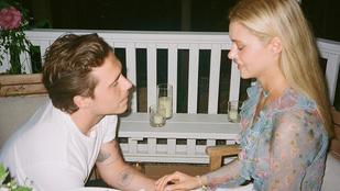 Brooklyn Beckham a jelek (=egy fotó) szerint már el is vette milliárdos menyasszonyát