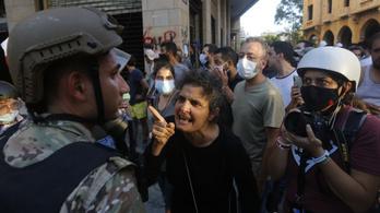Meghalt egy rendőr a bejrúti zavargásokban