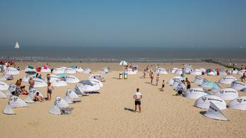 Botrányt csináltak a 35 fokos hőség elől a tengerpartra menekülő belgák