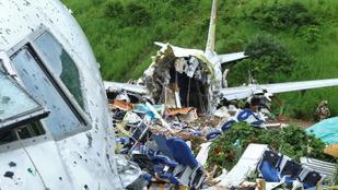 Elkezdték vizsgálni a leszállás után kettétört indiai utasszállító feketedobozát