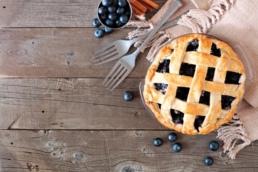 Gluténmentes áfonyás pite: ezt a tésztareceptet kedvedre variálhatod