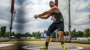 Élete legjobbjával nyerte Halász Bence a kalapácsvetést az atlétikai ob-n