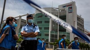 Külföldiekkel való összejátszás gyanúja miatt őrizetbe vettek egy hongkongi médiamogult