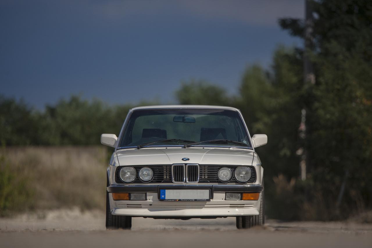 Az E28 eredetileg nem önálló modellként volt tervben, a BMW mindössze az előd E12-t szerette volna frissíteni, amire 100 milló dollárt szánt a vállalat. A feladattal Claus Luthe-t bízták meg a bajorok, aki eleinte igyekezett is a büdzsén belül maradni, de annyira belemelegedett csapatával a fejlesztésekbe, hogy végül 400 milló dollár elköltése után már egy új modellel álltak elő. A vezetősége elégedett volt az új 5-össel, és szemet húnyt az elszállt költségvetés felett.